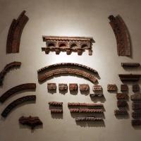 Elementi di decorazione architettonica in cotto ferrarese, xiv-xv secolo 01 - Sailko - Ferrara (FE)