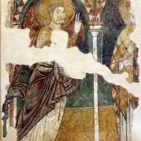 Angelo gabriele e santo, xiii secolo, da s. andrea a ferrara - Sailko - Ferrara (FE)