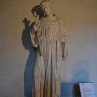 Alfonso Lombardi attribuito san Nicola da Tolentino museo casa Romei Ferrara - Nicola Quirico - Ferrara (FE)