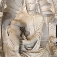 Scuola veneta, madonna in trono col bambino, xv secolo, dal piccolo chiostro della certosa di ferrara, 02 - Sailko - Ferrara (FE)