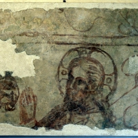 Scuola padana, testa di cristo in preghiera nell'ortoi, 1350-1400 ca, da ex-oratorio dei battuti bianchi a ferrara - Sailko - Ferrara (FE)