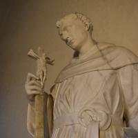 Alfonso Lombardi attribuito san Nicola da Tolentino museo casa Romei Ferrara 01 - Nicola Quirico - Ferrara (FE)