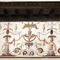 Bastianino, tobiolo e l'angelo, 1550 circa, grottesche 01 - Sailko - Ferrara (FE)