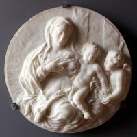 Giuseppe maria mazza (attr.), madonna del latte, 1700-20 ca - Sailko - Ferrara (FE)