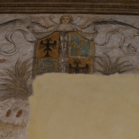 Stemma casa Este cortile casa Romei Ferrara - Nicola Quirico - Ferrara (FE)