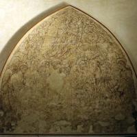 Artista tardo-gotico, dormitio virginis, da s.m. nuova a ferrara, 1450 ca - Sailko - Ferrara (FE)