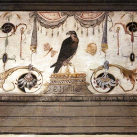 Casa romei, sala della scimmia, 04 falcone - Sailko - Ferrara (FE)
