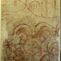 Scuola padana, apostoli dormienti da orazione nell'orto, 1350-1400 ca, da ex-oratorio dei battuti bianchi a ferrara - Sailko - Ferrara (FE)