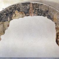 Artista bolognese o veneto, guerrieri a cavallo e uomoni inginocchiati, 1350-1400 ca., da sacello del campanile di s. stefano, ferrara 01 - Sailko - Ferrara (FE)