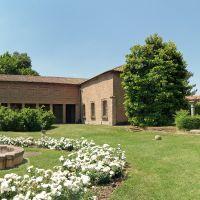Palazzina Marfisa d'Este, giardino con fontanta e loggia - Massimo Baraldi - Ferrara (FE)