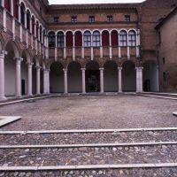 palazzo costabili, cortile d'onore - zappaterra - Ferrara (FE)