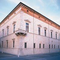 Palazzo dei Diamanti visto dal Quadrivio - Baraldi - Ferrara (FE)