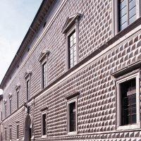 Palazzo dei Diamanti. Scorcio facciata - Baraldi - Ferrara (FE)