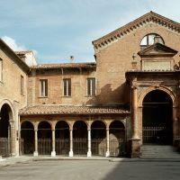 Ospedale di Sant'Anna. Chiostro - Baraldi - Ferrara (FE)