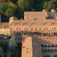 Palazzo Massari. Veduta aerea - baraldi - Ferrara (FE)