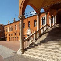 Piazza Municipale. Scalone d'onore - Baraldi - Ferrara (FE)
