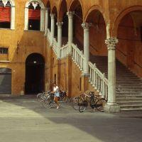 Palazzo Municipale, scalone d'onore - zappaterra - Ferrara (FE)