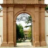 ingresso di Parco Pareschi - Baraldi - Ferrara (FE)