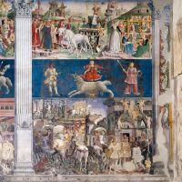 Palazzo Schifanoia. Salone dei Mesi, Marzo - anonimo - Ferrara (FE)