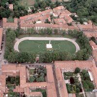 Piazza Ariostea. Veduta aerea - baraldi - Ferrara (FE)