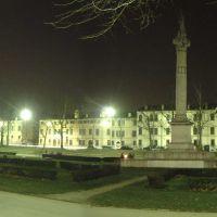 veduta notturna di Piazza Ariostea - corbelli - Ferrara (FE)