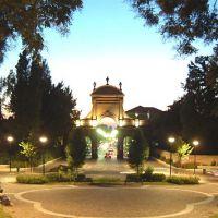 veduta notturna della Prospettiva Giovecca - corbelli - Ferrara (FE)