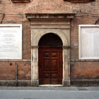 Sinagoga. Esterno - Baraldi - Ferrara (FE)