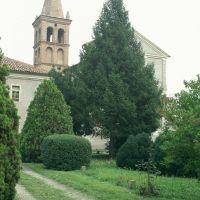 Migliarino, campanile della Pieve dei SS. Vitale e Bartolomeo - Samaritani - Fiscaglia (FE)