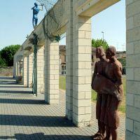 Migliarino, muro di Piazza Pertini. Particolare - Baraldi - Fiscaglia (FE)