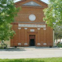 Migliaro, Chiesa dlela Natività di Maria - Baraldi - Fiscaglia (FE)