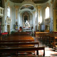 Chiesa di San Leonardo Abate. Interno - Baraldi - Masi Torello (FE)