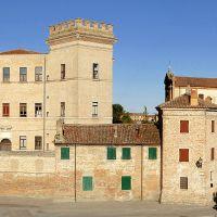 il Castello e l'abitato - Baraldi - Mesola (FE)