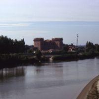 veduta del Castello Estense dal fiume - rebeschini - Mesola (FE)
