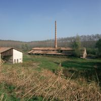 Ariano Ferrarese, fornace nella golena del Po - Samaritani - Mesola (FE)