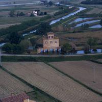 Torre Abate vista dall'alto - rebeschini - Mesola (FE)