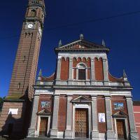 Chiesa di San Paolo. Facciata - Meneghetti - Mirabello (FE)