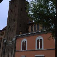 Campanile della chiesa di San Michele Arcangelo - Meneghetti - Poggio Renatico (FE)