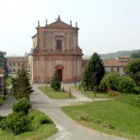 Ferrarese. Guarda, chiesa parrocchiale - Baraldi - Ro (FE)