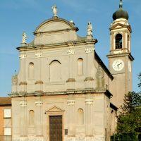 Ferrarese. Zocca, chiesa parrocchiale - Baraldi - Ro (FE)