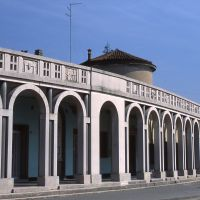 Centro urbano con porticato - Meneghetti - Tresigallo (FE)