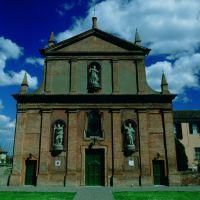 Pieve dei SS. Pietro e Paolo. Facciata - Meneghetti - Vigarano Mainarda (FE)