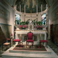Chiesa della Natività di Maria. Interno - Samaritani - Voghiera (FE)
