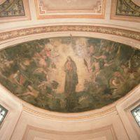 Chiesa della Natività di Maria. Affresco del catino absidale - Samaritani - Voghiera (FE)