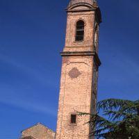 Chiesa della Natività di Maria Vergine. Campanile - Meneghetti - Voghiera (FE)