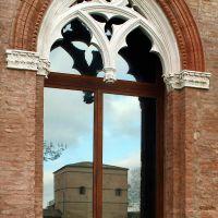 Delizia del Belriguardo. Finestra gotica - Baraldi - Voghiera (FE)