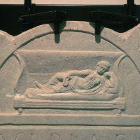 Museo Civico del Belriguardo. Stele funeraria - Samaritani - Voghiera (FE)