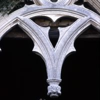 Delizia del Belriguardo. Particolare finestra gotica - Zappaterra - Voghiera (FE)