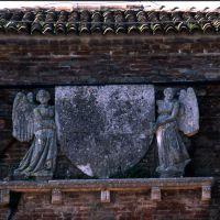 Delizia del Belriguardo. Particolare dello stemma - Zappaterra - Voghiera (FE)