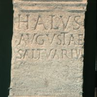 Museo Civico del Belriguardo. Stele romana - Samaritani - Voghiera (FE)
