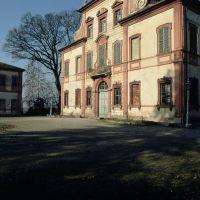 Villa Massari vista di scorcio - Samaritani - Voghiera (FE)